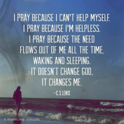 Praying Without Ceasing, even when it's hard