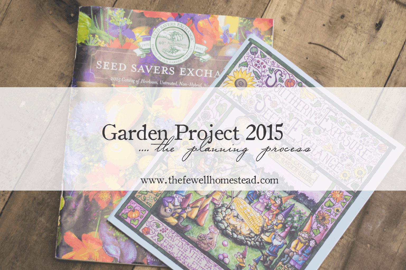 Garden Project 2015 | The Planning Process