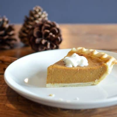 How to Make White Pumpkin Pie