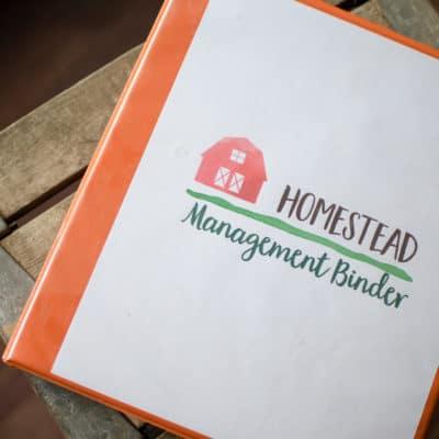 Our Homestead Management Binder