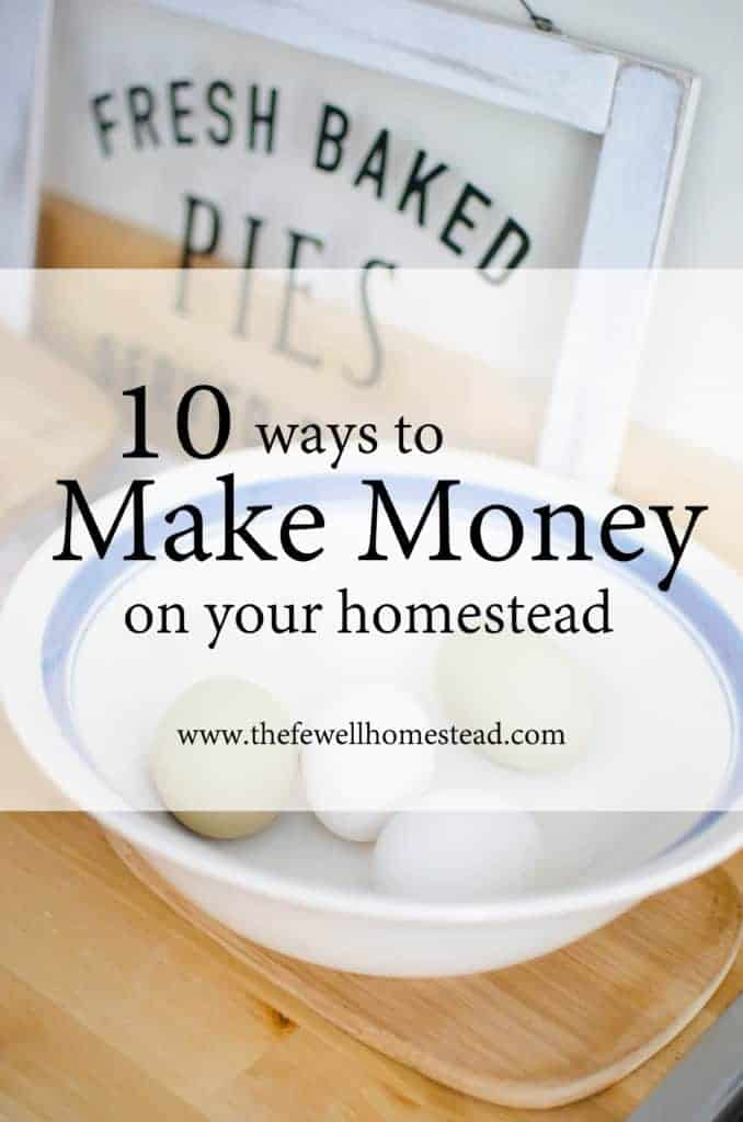 Start Making Money Homesteading