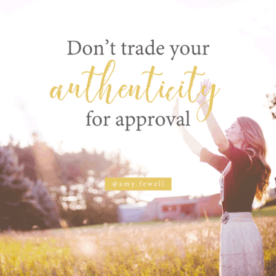 {Video} | Be Authentic