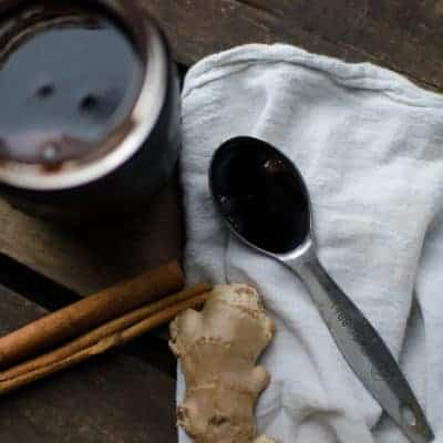 Flu Fighting Elderberry and Astragalus Syrup