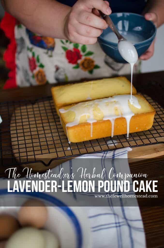Lavender Lemon Pound Cake