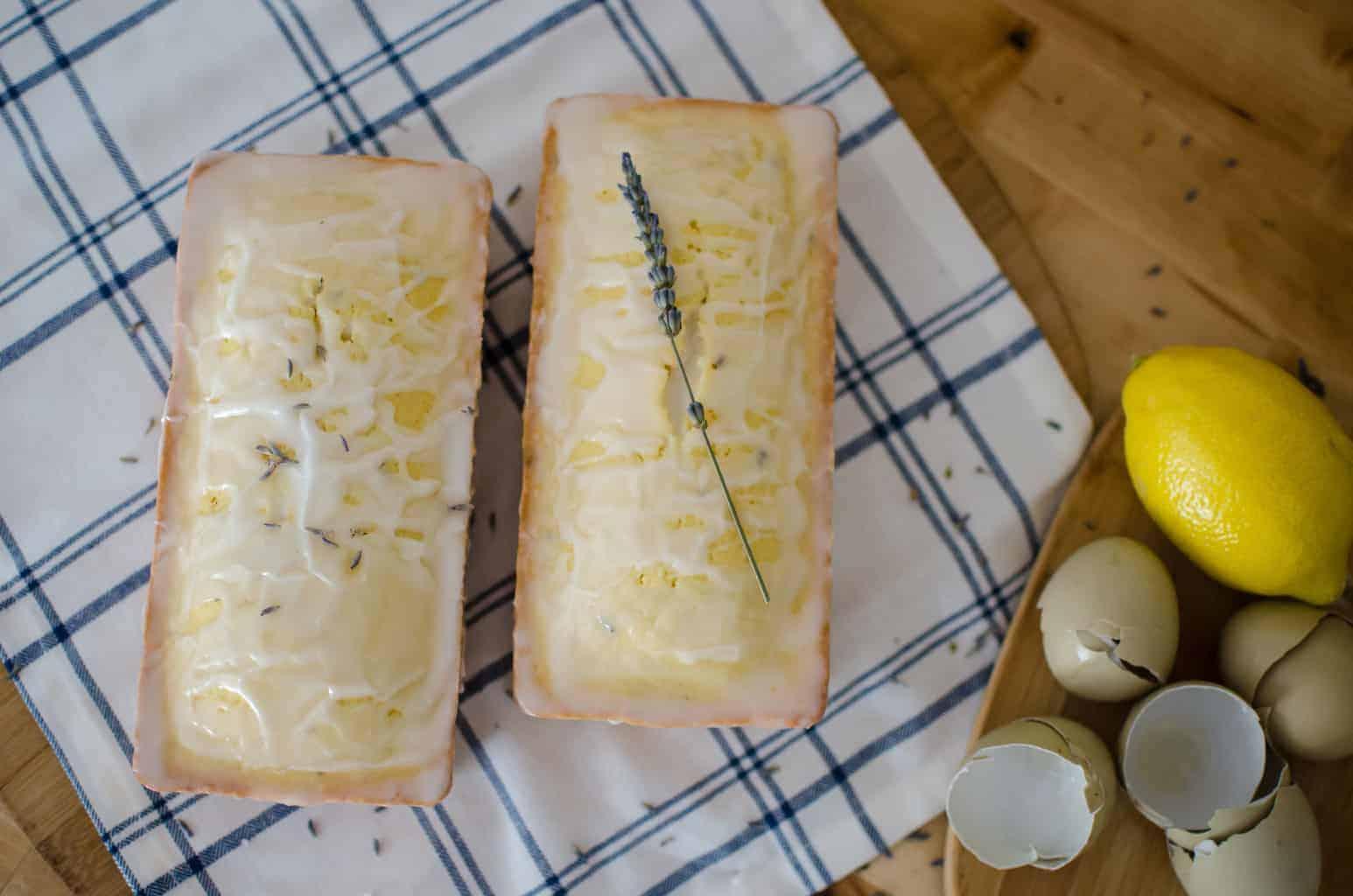 Lavender Lemon Pound Cakes
