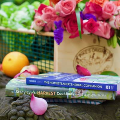 Enter to Win!! | Stacy Lyn's Harvest Cookbook and The Homesteader's Herbal Companion by Amy Fewell