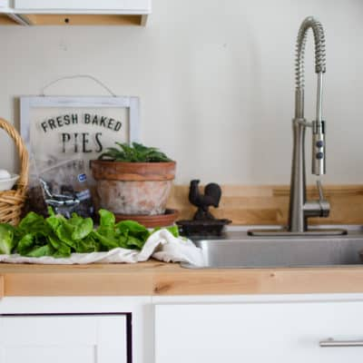 Take a Tour of Our Farmhouse Kitchen {Video}
