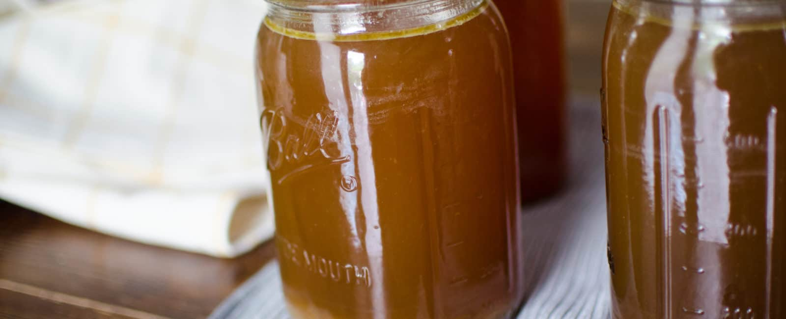 How to Make and Pressure Can Chicken Bone Broth