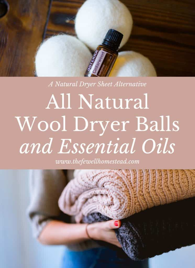 all natural dryer sheets