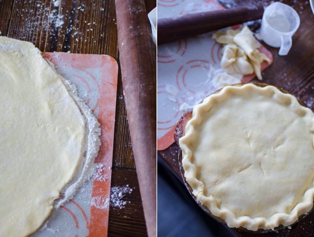 Homemade Chicken Pot Pie with Pie Crust
