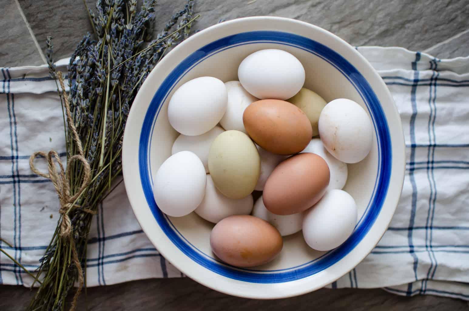 farm fresh eggs frittata
