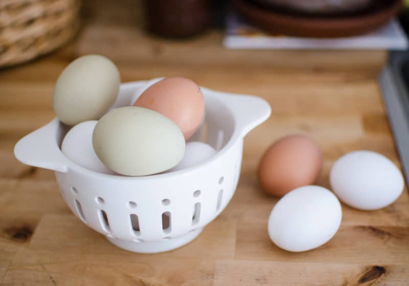 How to Preserve Chicken Eggs