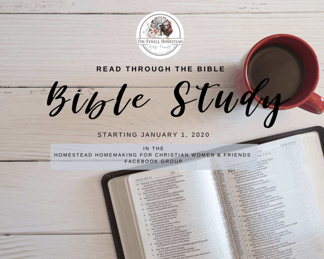 Read the Bible in a Year 2020 | Homestead Homemaking