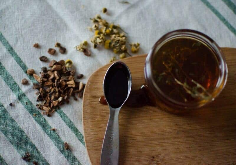 Homemade Cough Syrup | Eucalyptus and Thyme