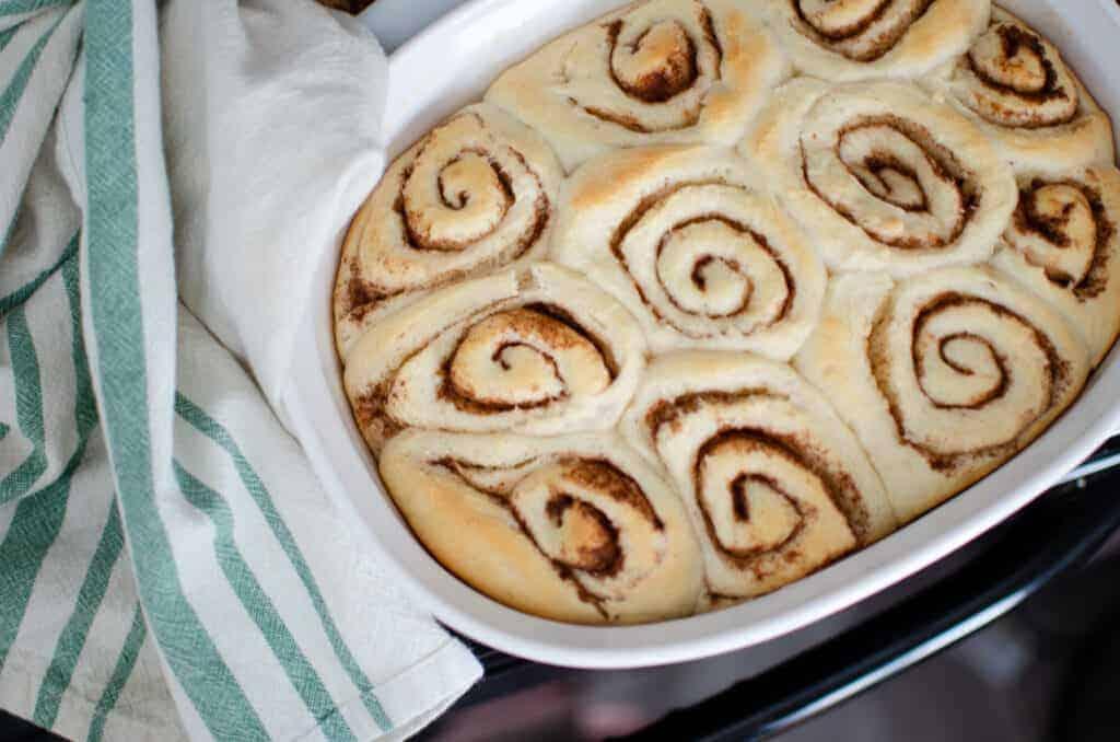 Long-Fermented Sourdough Cinnamon Rolls Recipe