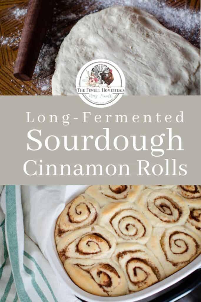 Old Fashioned Sourdough Cinnamon Roll Recipe