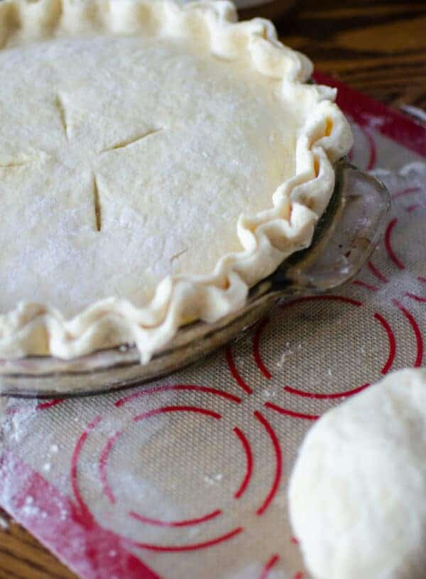 Easy Sourdough Pie Crust