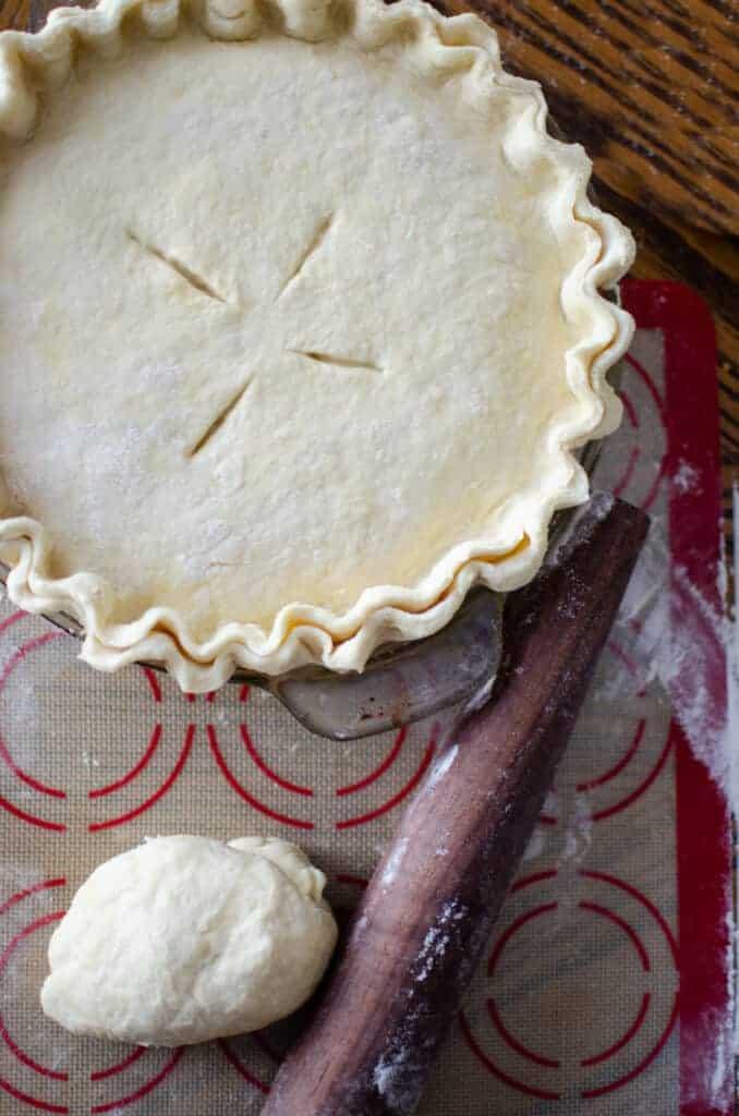 Sourdough Pie Crust Recipe with Sourdough Discard