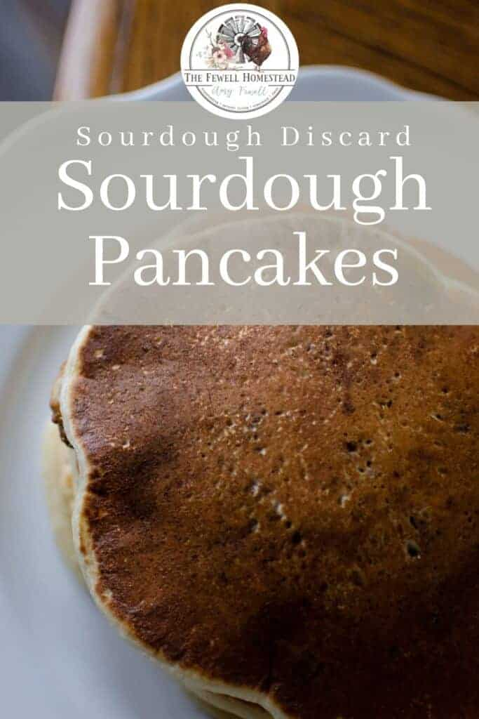 Traditional Sourdough Pancakes with Sourdough Discard