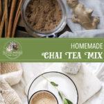 Homemade Chai Spice Tea Mix
