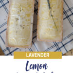 Lavender Lemon Pound Cake Recipe