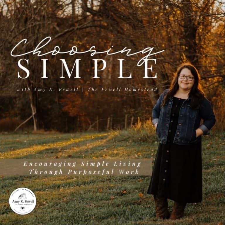 Choosing Simple
